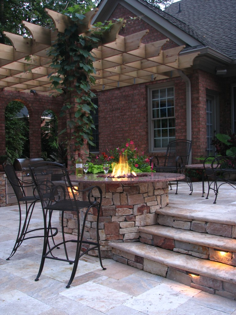 Form and Function Landscape Design - custom fire pit
