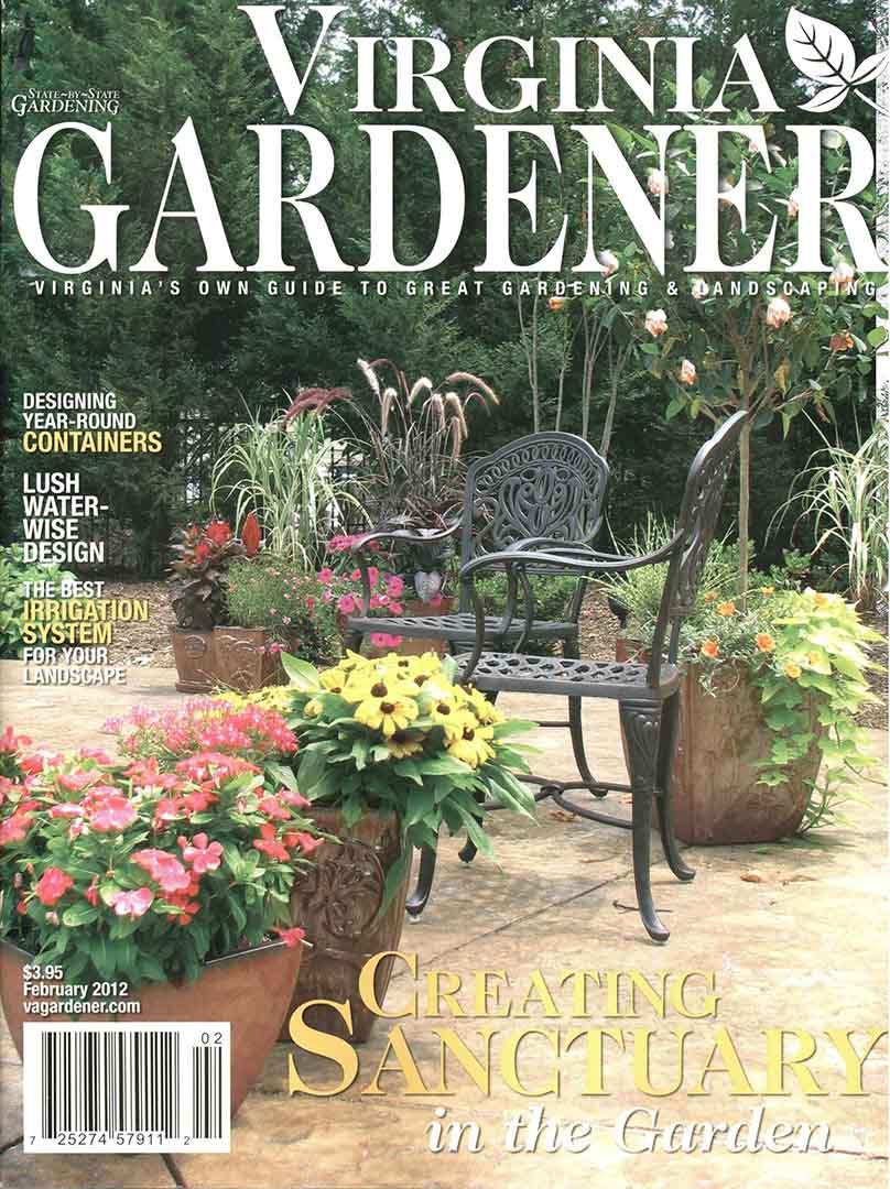 Vriginia Gardener Cover 2-12