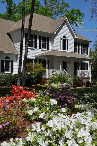 azaleas foundation plantings landscape design